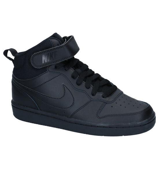 Nike Court Borough Zwarte Sneakers
