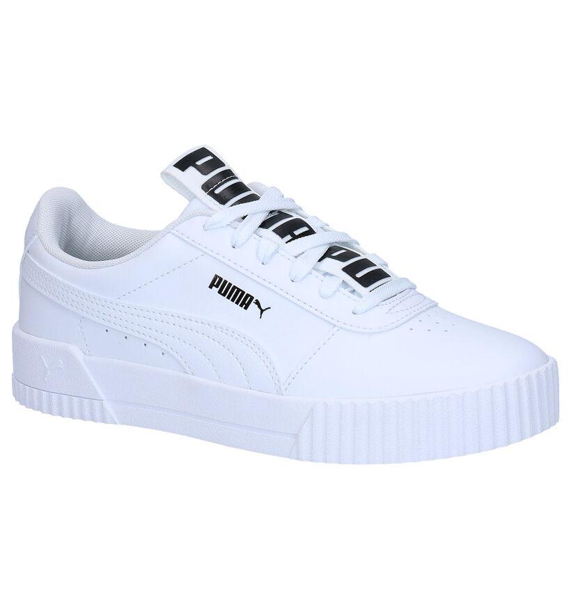 Puma Baskets basses en Blanc en simili cuir (265518)