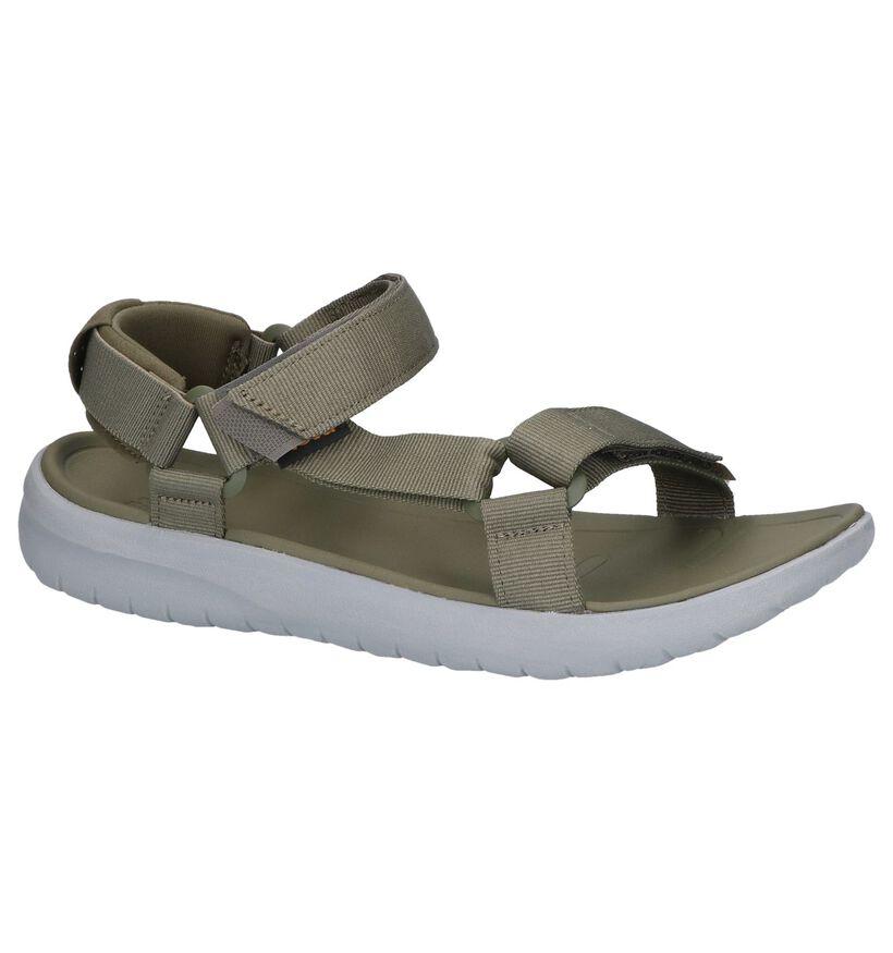 Teva Sanborn Zwarte Sandalen in stof (270496)