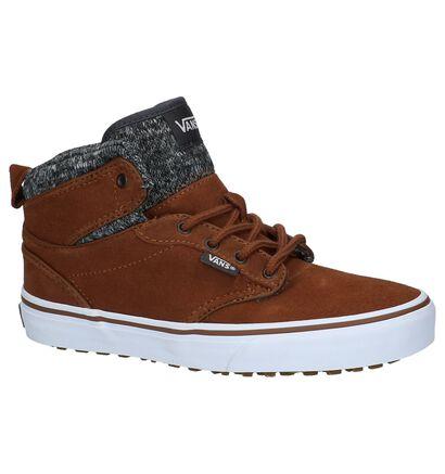 Hoge Skate Sneakers Bruin Vans Atwood Hi MTE in daim (207928)