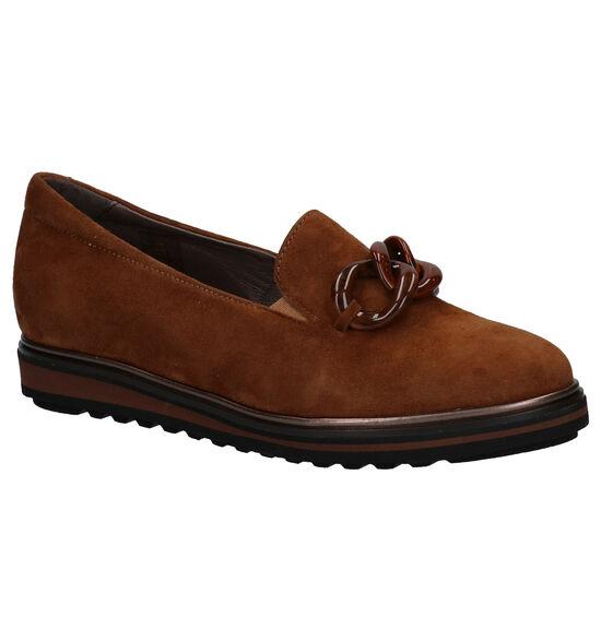Softwaves Cognac Loafers