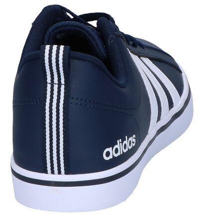 Blauwe Sneakers adidas VS Pace in imitatieleer (252493)
