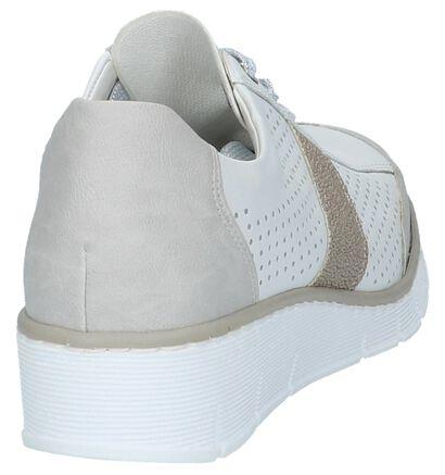Witte Veterschoenen Rieker, Wit, pdp