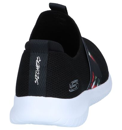 Zwarte Sneakers Skechers Ultra Flex Love First in stof (247158)