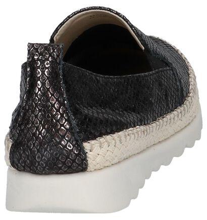 The Flexx Chaussures slip-on en Noir en cuir (209382)