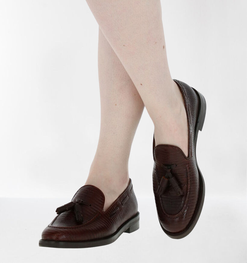 JHay Loafers en Marron en cuir (281954)