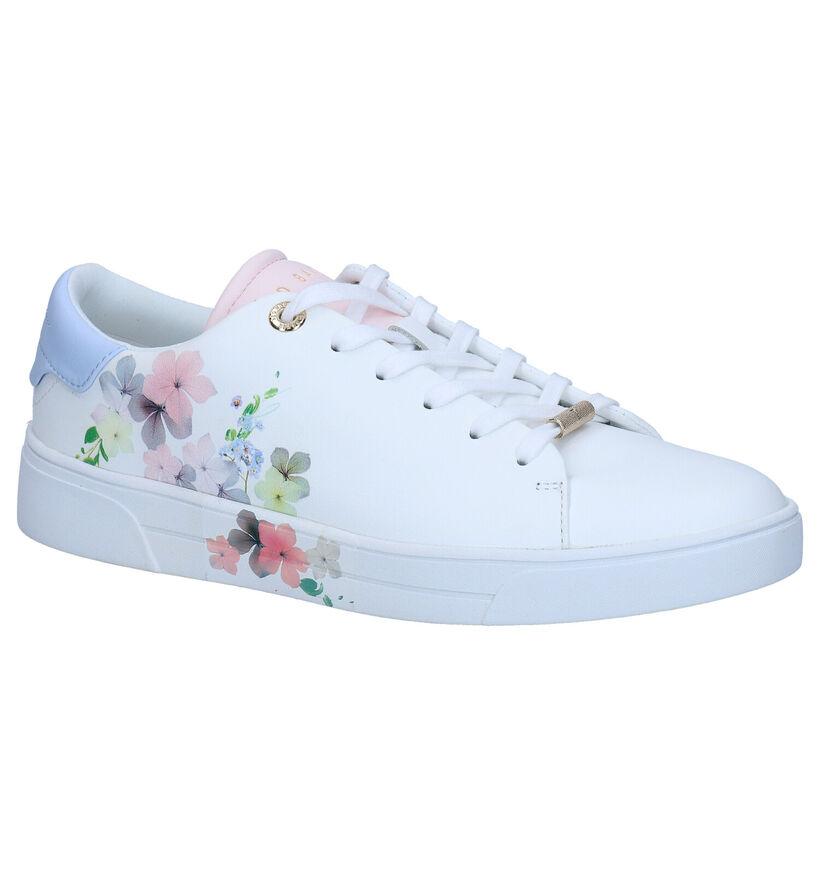 Ted Baker Lennei Witte Sneakers in leer (269993)