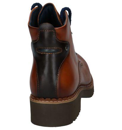 Cognac Boots Pikolinos Vicar in leer (233005)
