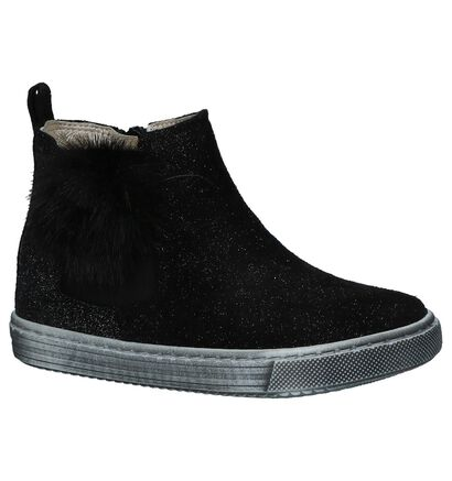 Bumba Chaussures hautes en Noir en daim (224105)