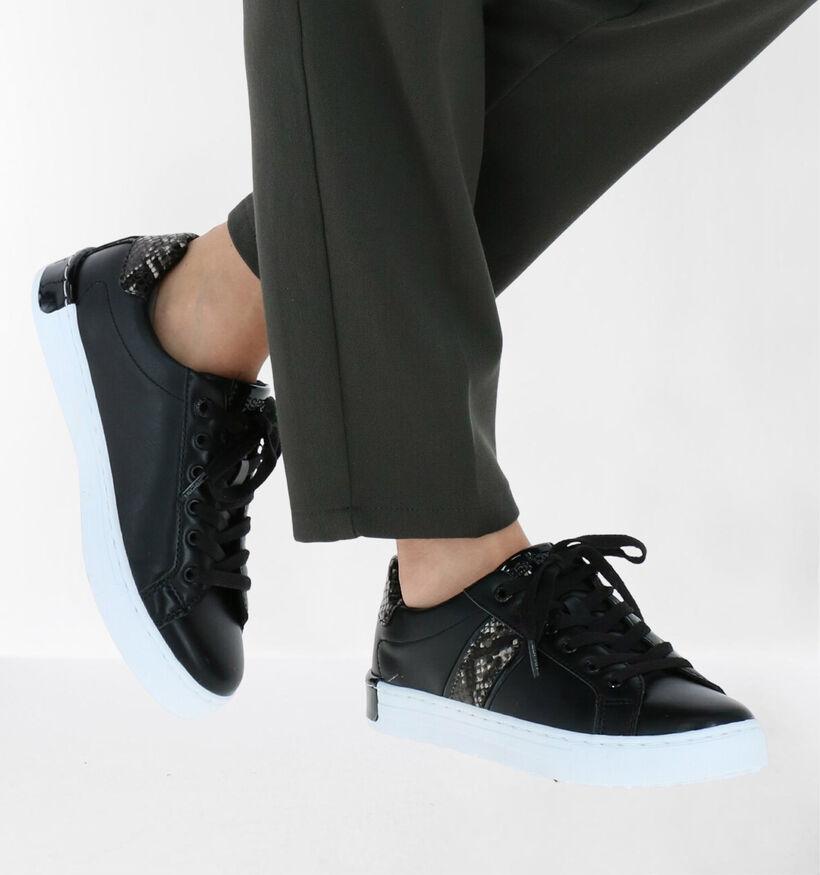 Esprit Baskets en Noir en simili cuir (279814)