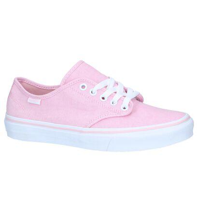 Roze Sneakers Vans Camden Stripe in stof (239975)