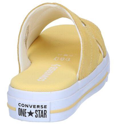 Converse Nu-pieds plates  (Jaune), Jaune, pdp