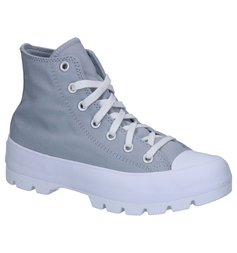 Converse Chuck Taylor AS Lugged Grijze Sneakers in stof (266495)
