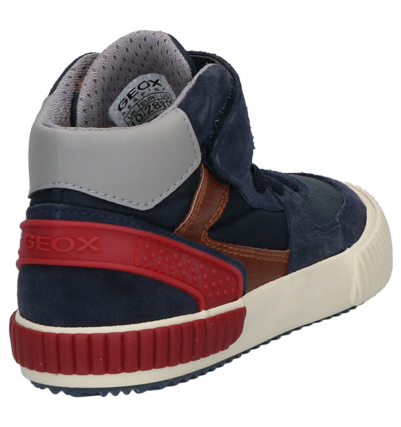 Geox Chaussures hautes en Bleu en daim (254532)
