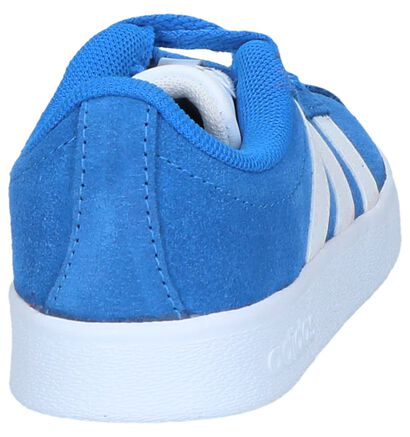 adidas VL Court 2.0 Baskets en Noir en nubuck (252556)