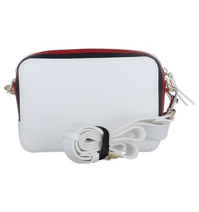 Witte Crossbody Tas Tommy Hilfiger TH Corporate , Wit, pdp