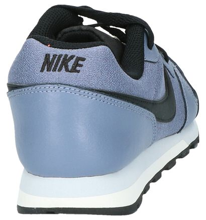 Lichtgrijze Sneakers Nike MD Runner 2 in kunstleer (205581)