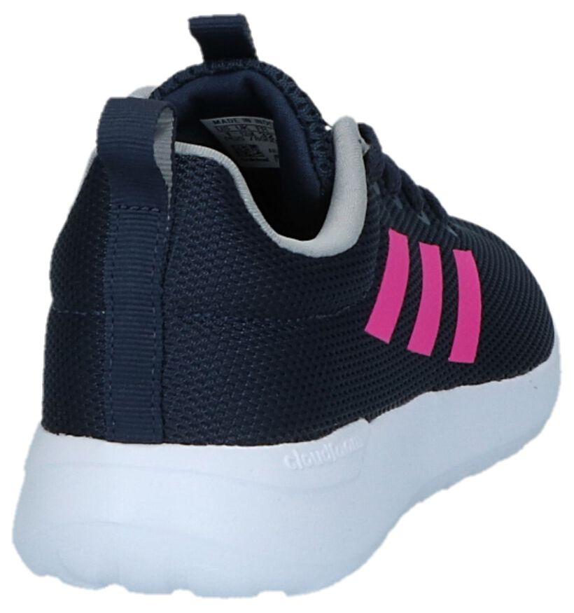 Blauwe Sneakers adidas Lite Racer CLN K in stof (221815)