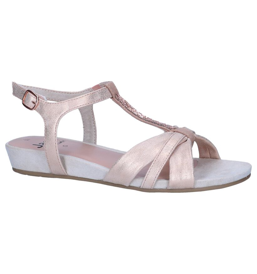 Rose Gold Sandalen Jana in kunstleer (242477)