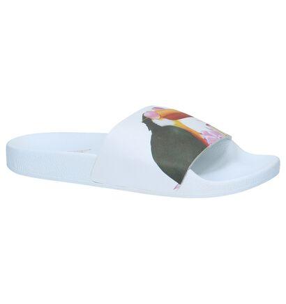 The White Brand Nu-pieds  (Blanc), Blanc, pdp