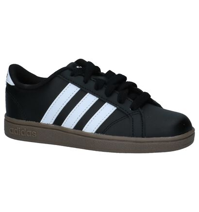 adidas Baseline K Zwarte Sneakers, Zwart, pdp