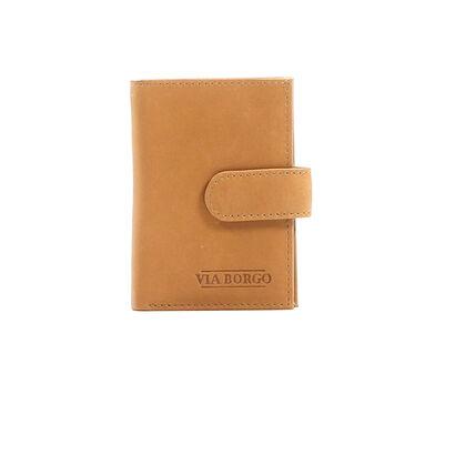 Burkely Porte-cartes en Cognac en cuir (208457)
