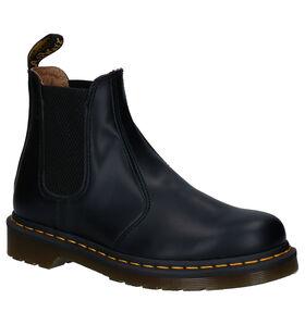 Zwarte Dr. Martens Smooth Chelsea Boots in leer (253114)