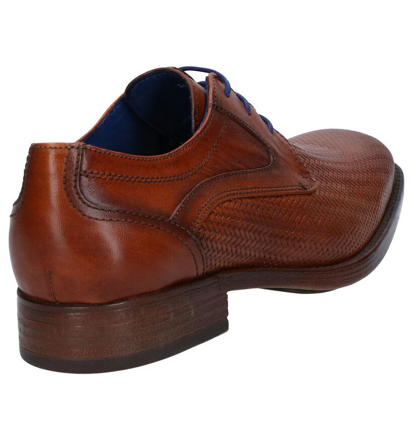 Braend Chaussures habillées en Cognac en cuir (272570)