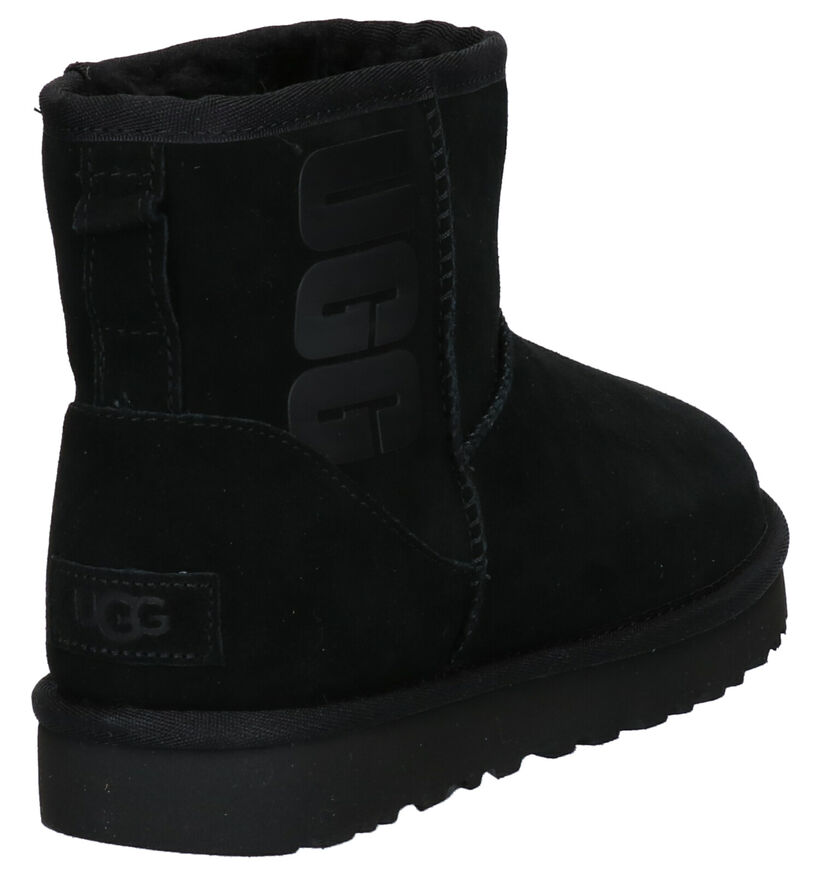 UGG Zwarte Boots in daim (253727)
