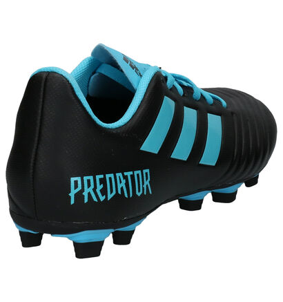 adidas Predator 19.4 Blauwe Voetbalschoenen in kunstleer (252942)