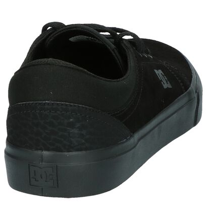 DC Shoes Skate sneakers en Noir en daim (207900)