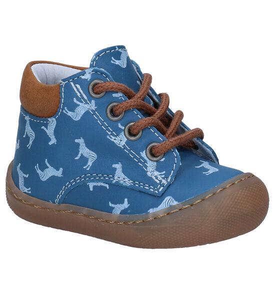 Bellamy Simon Blauwe Babyschoentjes
