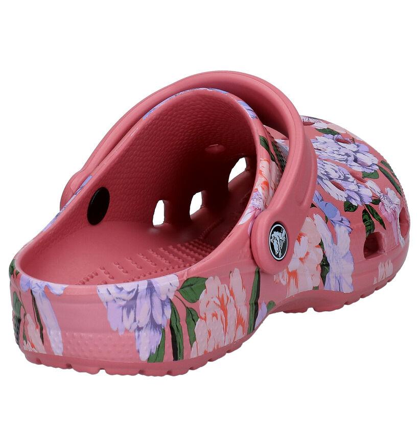 Crocs Classic Roze Slippers in kunststof (270763)
