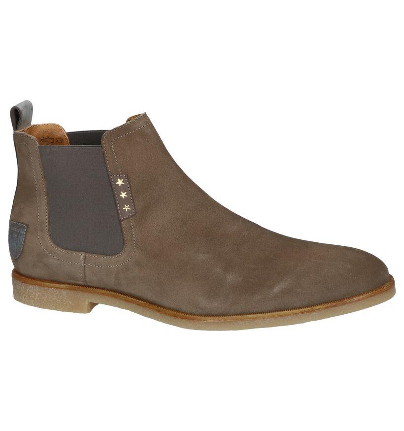 Kaki Geklede Boots Pantofola d'Oro Lambro in nubuck (240825)