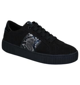 Youh! Chaussures à lacets en Noir en daim (277621)