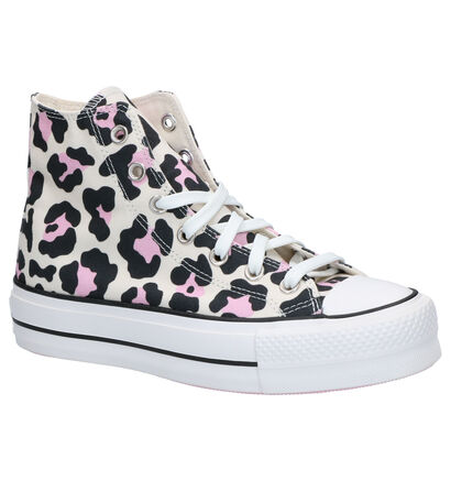 Converse Chuck Taylor All Star Lift Sneakers Roze in stof (266496)