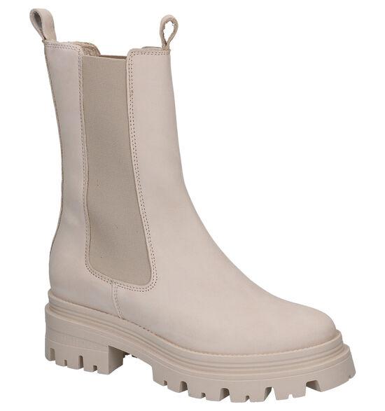 Tamaris Beige Chelsea Boots