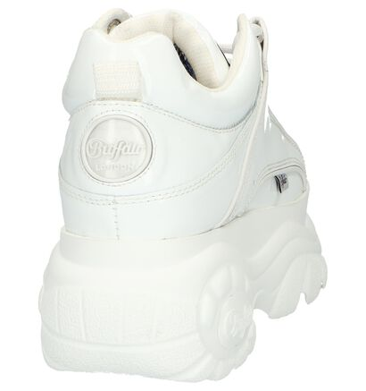 Buffalo Baskets basses  (Argent), Blanc, pdp