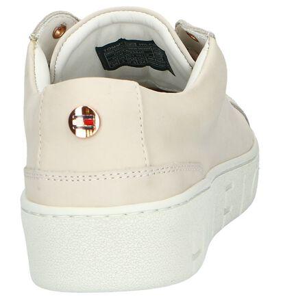 Tommy Hilfiger Baskets en Beige en cuir (241745)