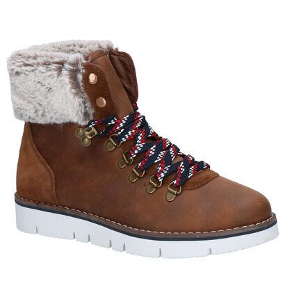 Skechers Bops Bruine Boots in daim (262847)