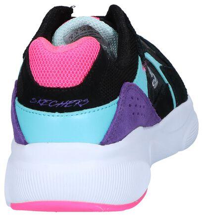 Zwarte Sneakers Skechers Meridian, Zwart, pdp