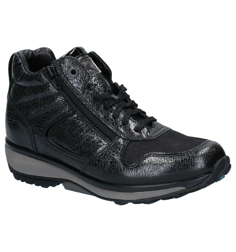 Xsensible Stretchwalker Filly Chaussures hautes en Noir en cuir (259687)