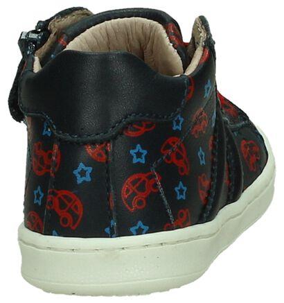 Bumba Chaussures hautes en Bleu foncé en cuir (207620)