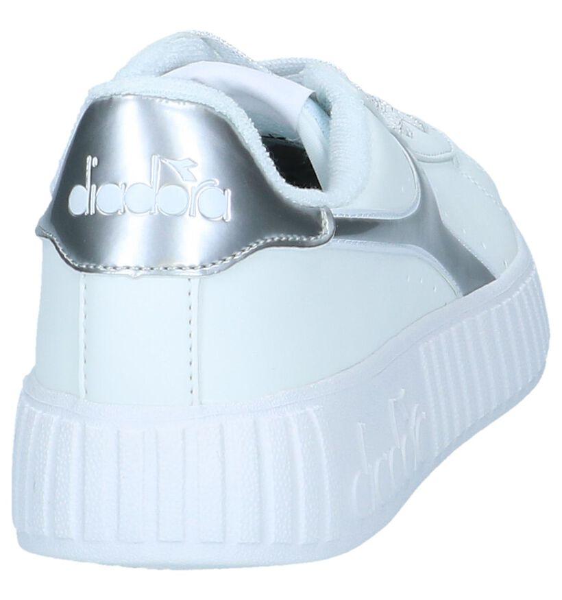 Diadora Baskets basses en Blanc en simili cuir (239608)