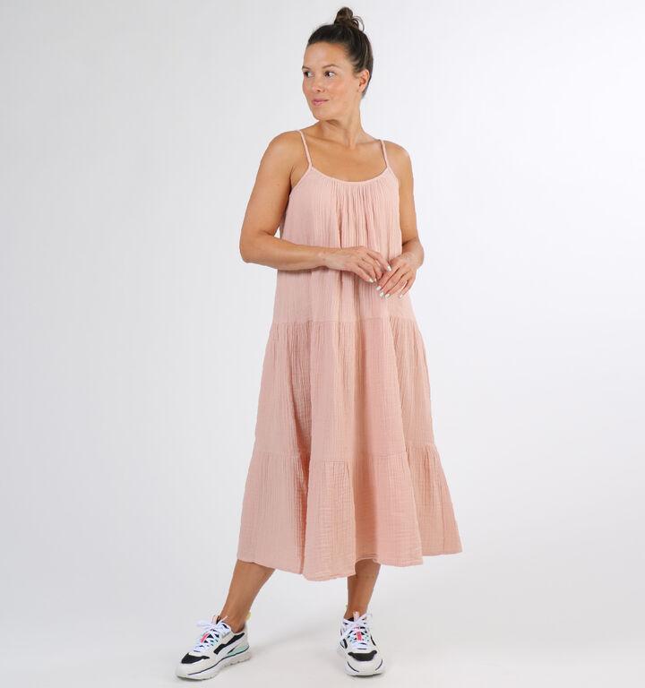 Vero Moda Prim Robe en Rose