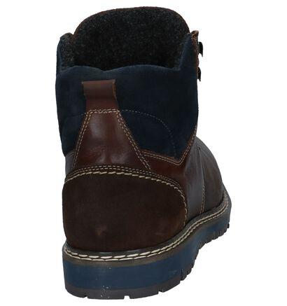 Donkerbruine Boots Borgo Sport Solvy, Bruin, pdp