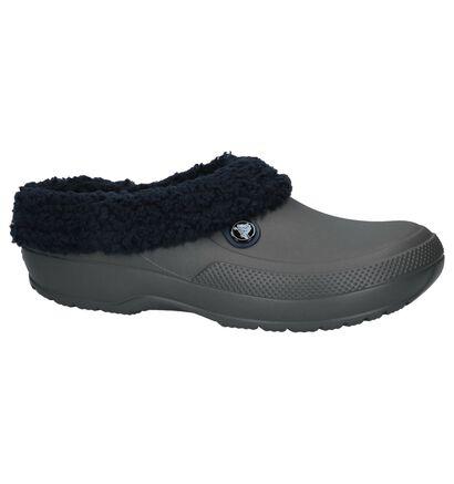 Crocs Nu-pieds plates  (Bleu foncé), Gris, pdp