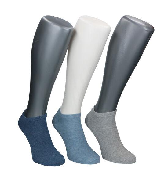 Camano Blauw/Grijze Sokken - 3 Paar