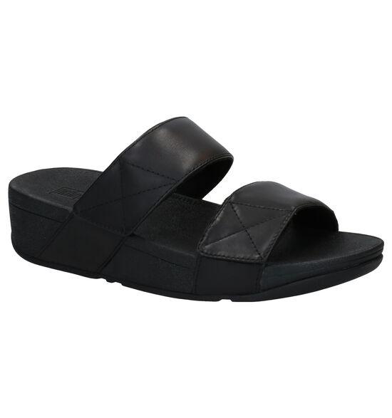 FitFlop Mina Slides Nu-pieds en Noir