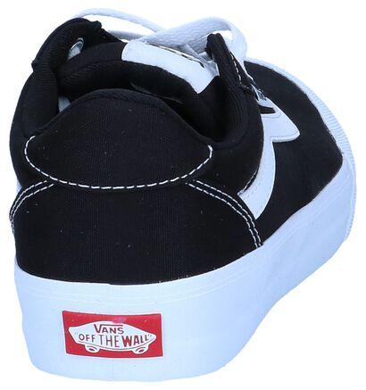 Zwarte Skateschoenen Vans Palomar in stof (246303)